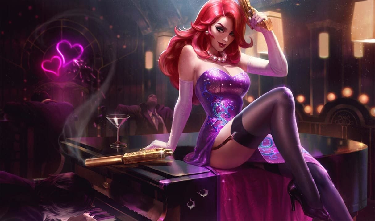 Secret Agent Miss Fortune Landscape Skin