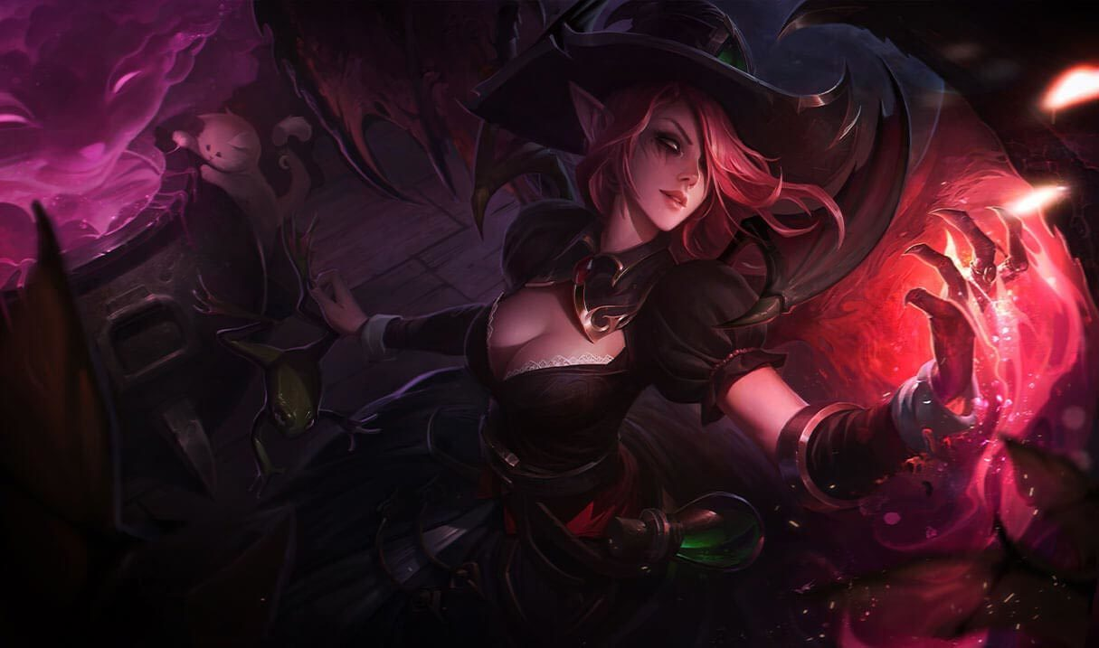 Bewitching Morgana Landscape Skin