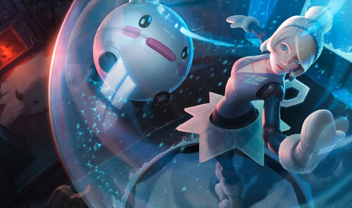 Winter Wonder Orianna Landscape Skin