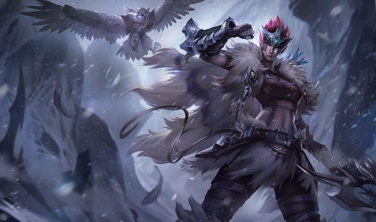 Woad Scout Quinn :: League of Legends (LoL) Champion Skin on MOBAFire