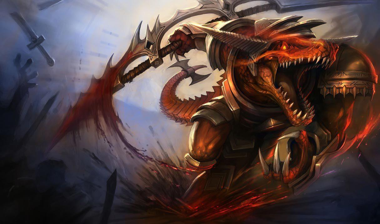 Bloodfury Renekton League Of Legends Lol Champion Skin On Mobafire