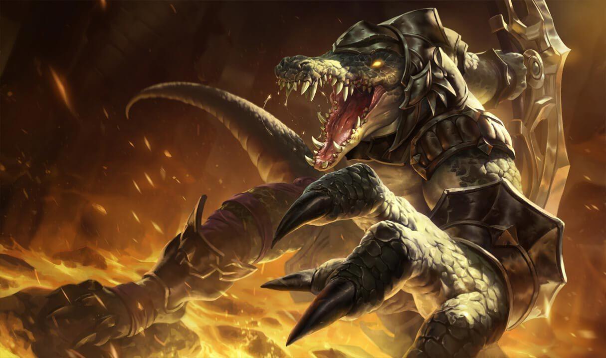 Classic Renekton League Of Legends Lol Champion Skin On Mobafire