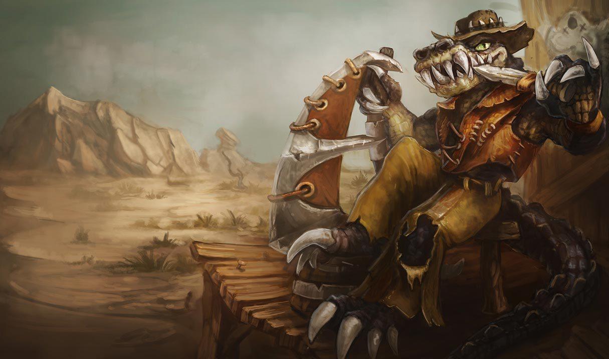Outback Renekton League Of Legends Lol Champion Skin On Mobafire