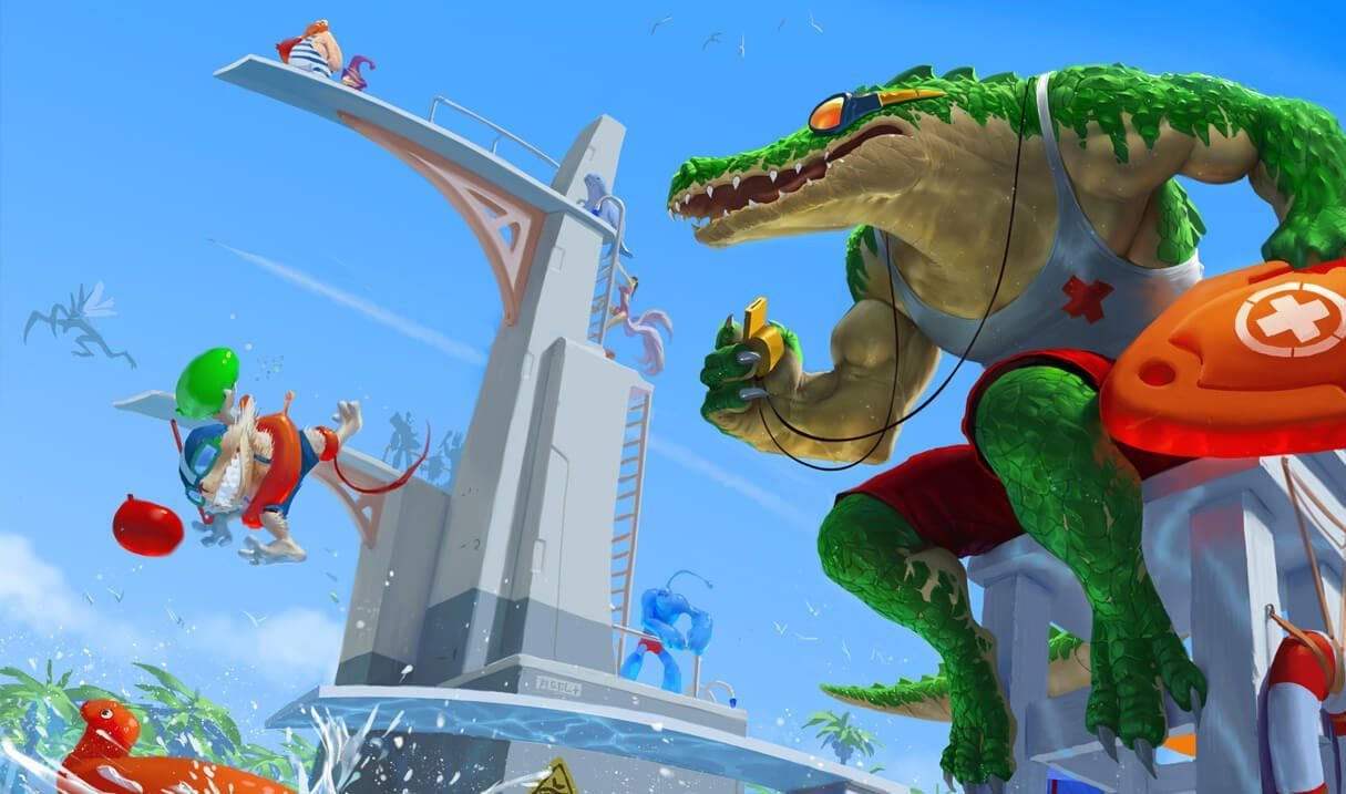 Pool Party Renekton Landscape Skin