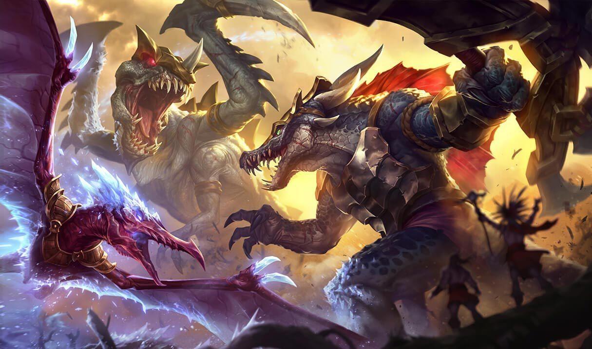 Prehistoric Renekton League Of Legends Lol Champion Skin On