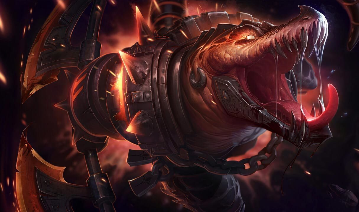 Scorched Earth Renekton League Of Legends Lol Champion Skin On