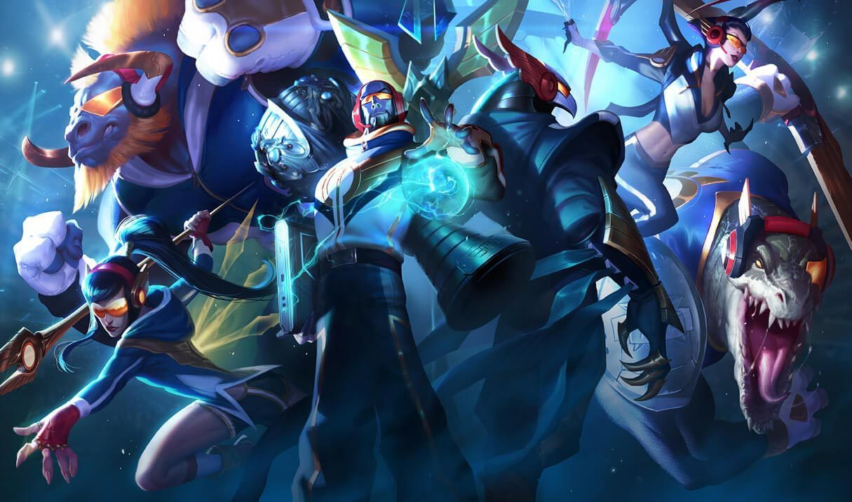 Skt Renekton League Of Legends Lol Champion Skin On Mobafire