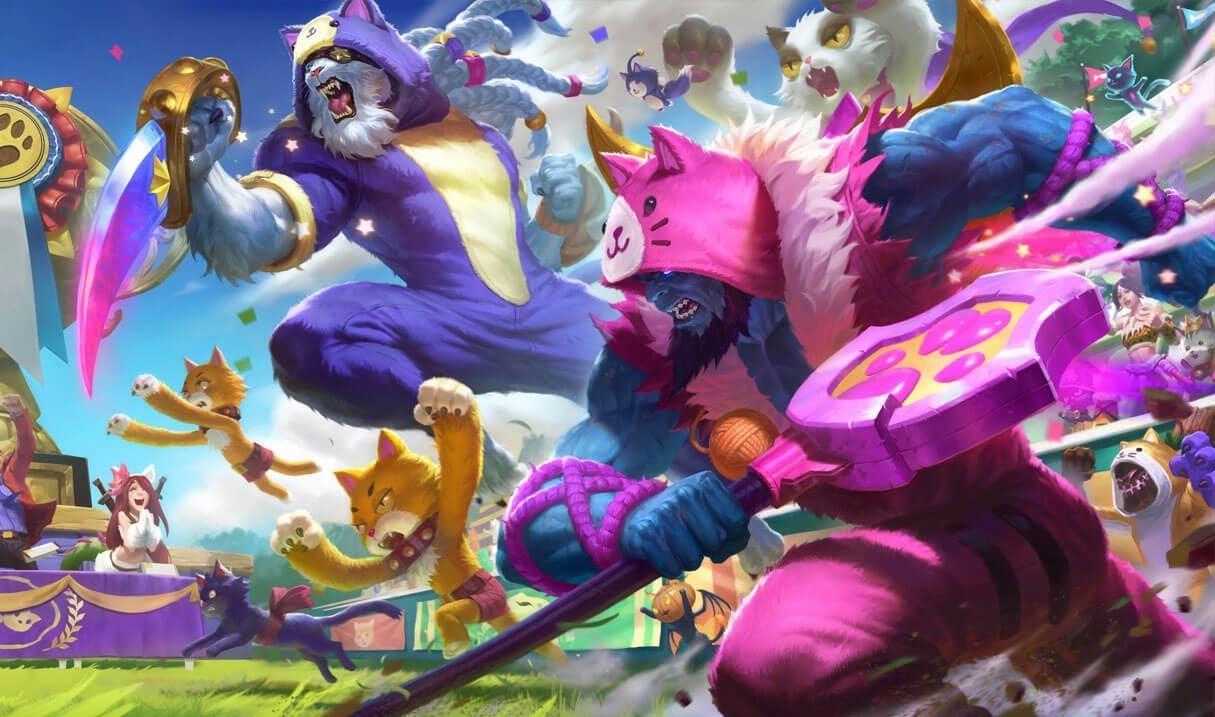 Pretty Kitty Rengar League Of Legends Lol Champion Skin