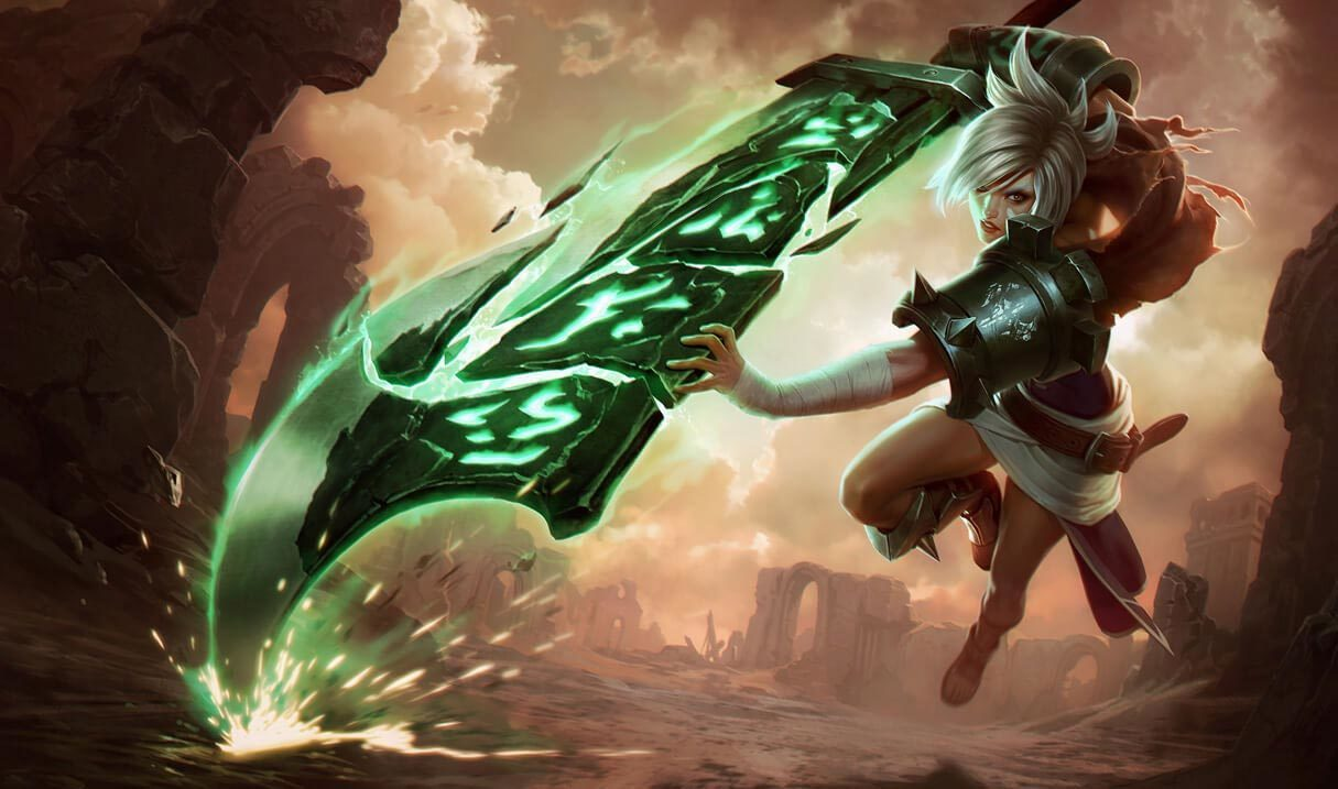 Classic Riven League Of Legends LoL Champion Skin On MOBAFire