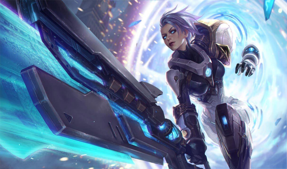 Pulsefire Riven :: League of Legends (LoL) Champion Skin on MOBAFire