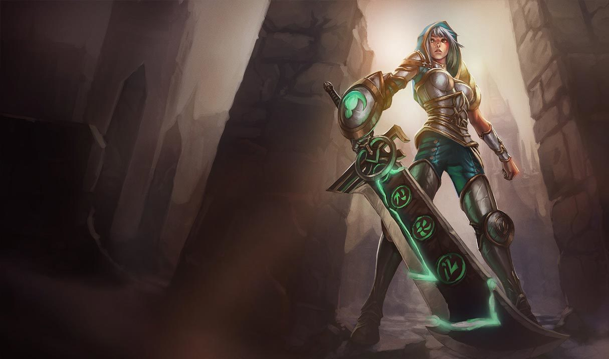 Redeemed Riven Landscape Skin
