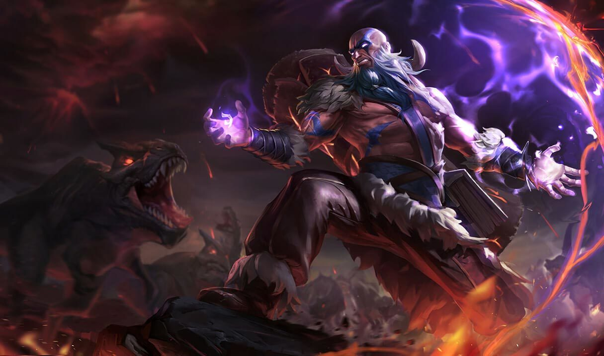 Tribal Ryze League Of Legends LoL Champion Skin On MOBAFire