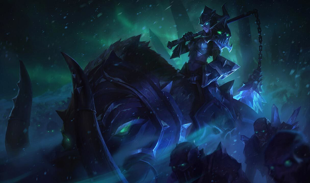 Darkrider Sejuani League Of Legends Lol Champion Skin On Mobafire