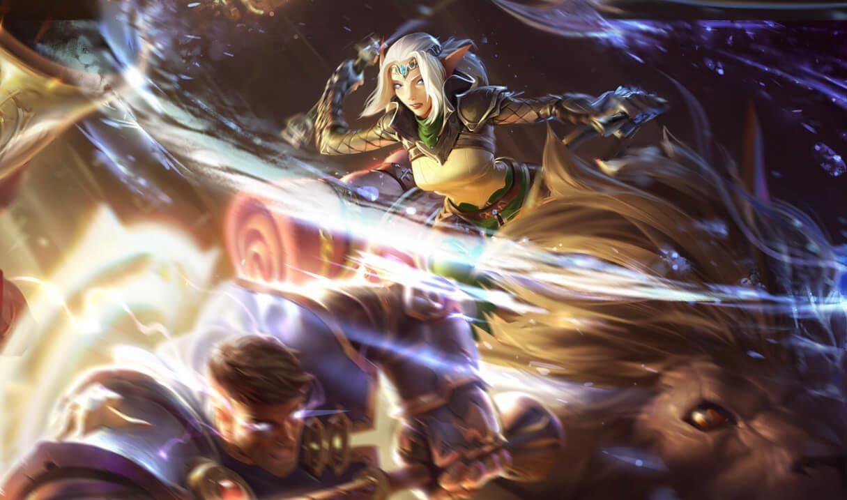 Sejuani Dawnchaser League Of Legends Lol Champion Skin On Mobafire