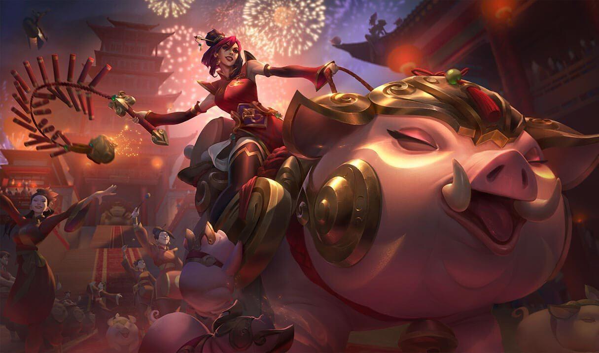 Firecracker Sejuani League Of Legends Lol Champion Skin On Mobafire