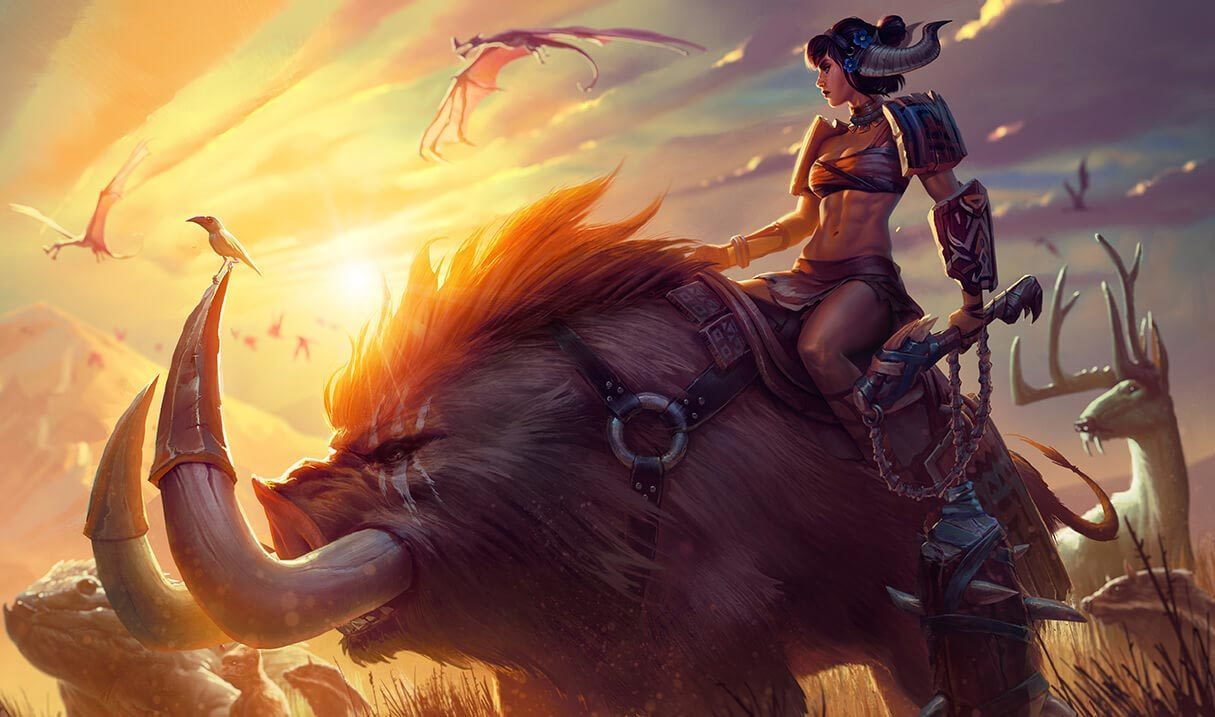 Sabretusk Sejuani League Of Legends Lol Champion Skin On Mobafire