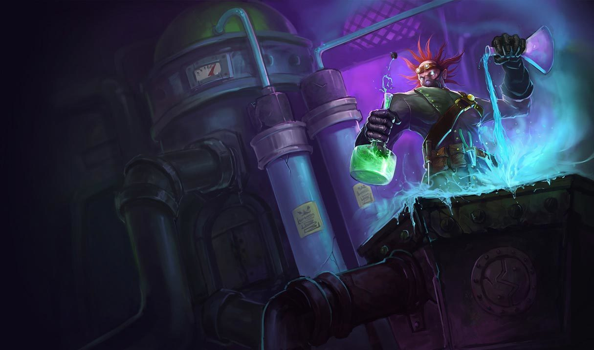 Mad Scientist Singed
