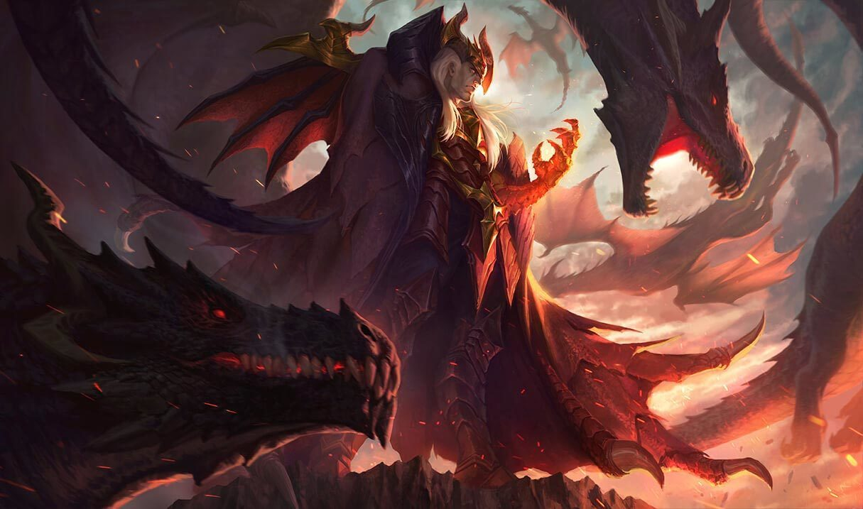 Dragon Master Swain League Of Legends Lol Champion Skin On Mobafire