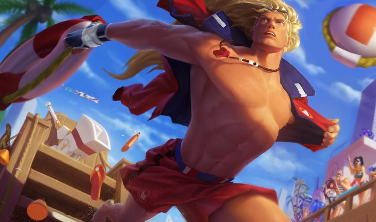 Pool Party Taric Landscape Skin