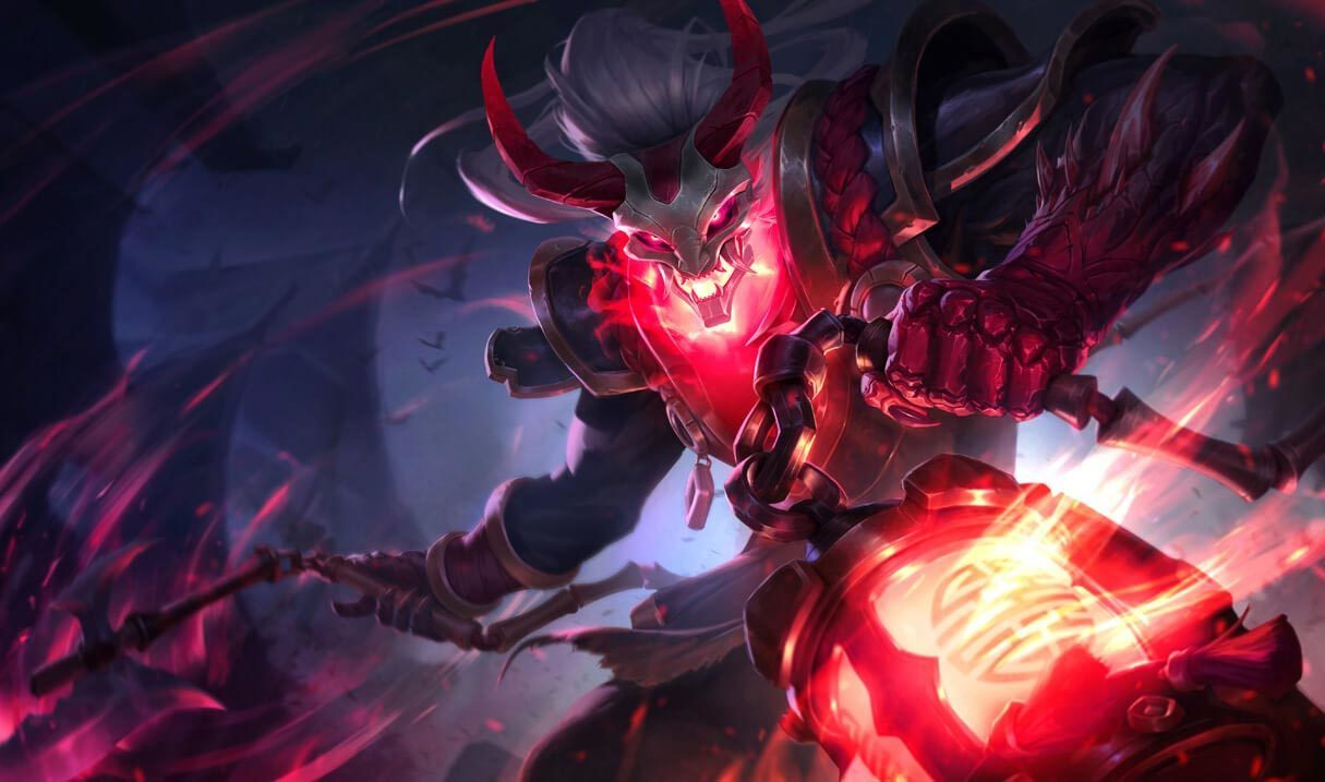 Blood Moon Thresh Landscape Skin