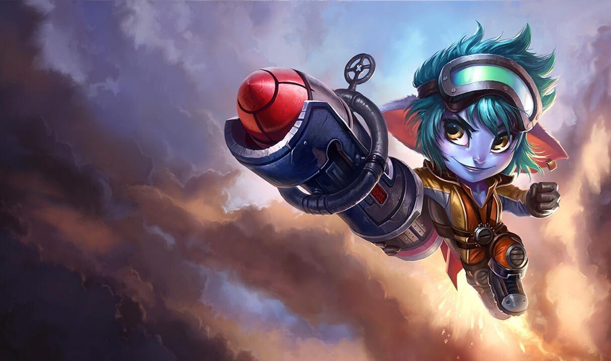 Rocket Girl Tristana League Of Legends Lol Champion