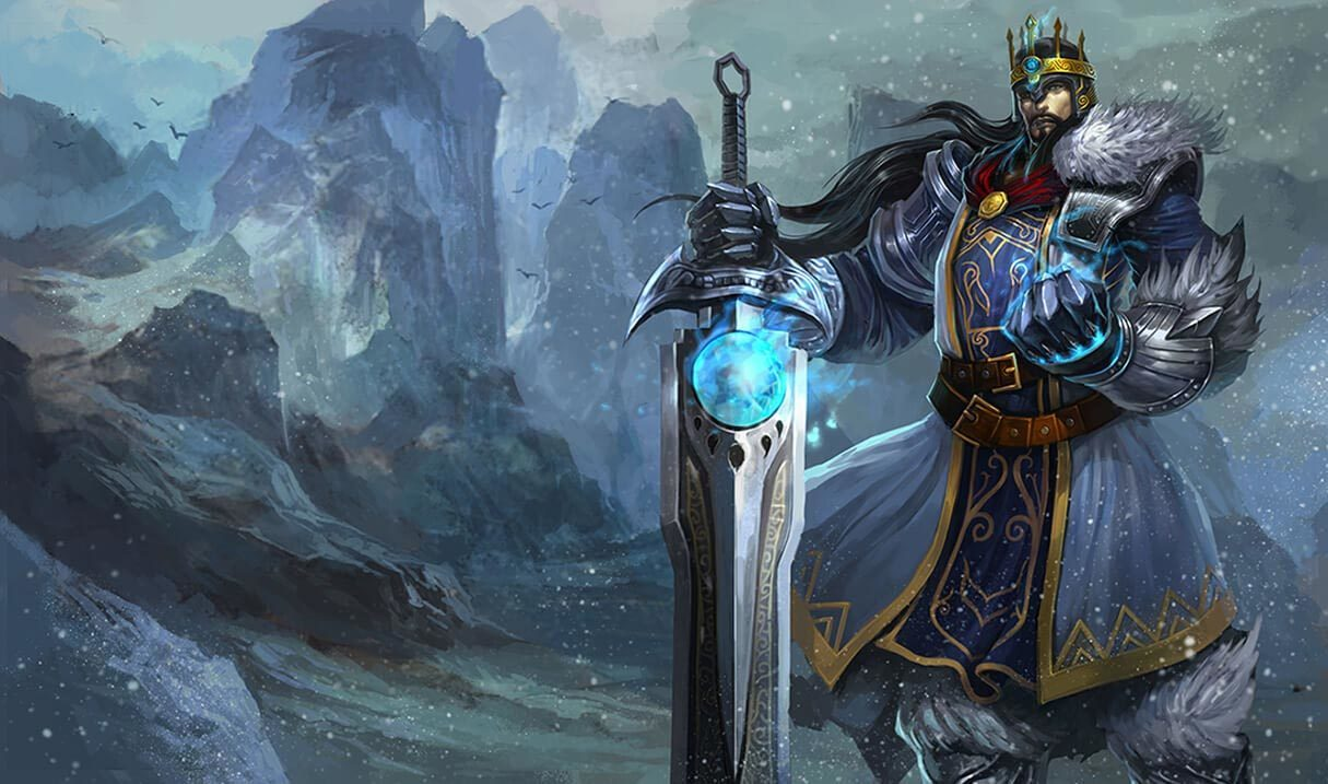 King Tryndamere :: League of Legends (LoL) Champion Skin on