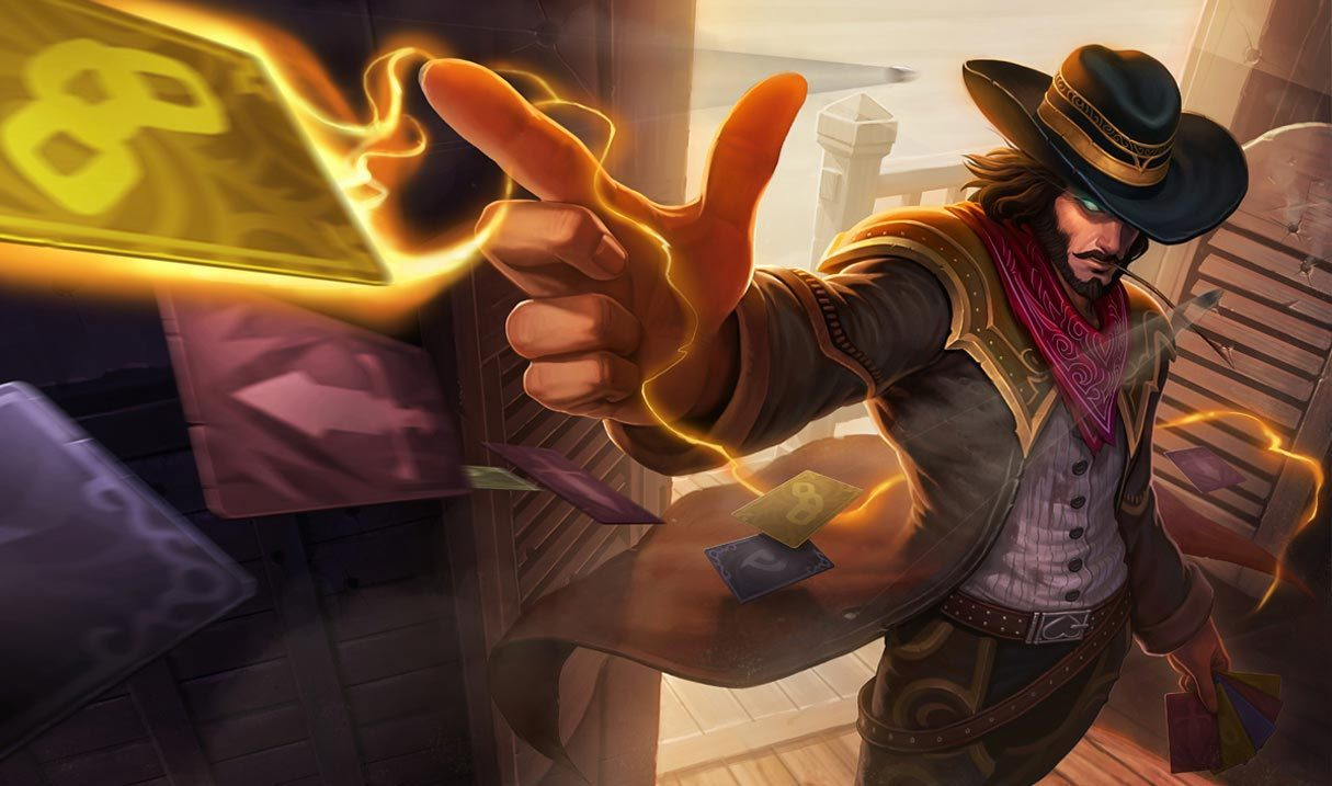 High Noon Twisted Fate Landscape Skin