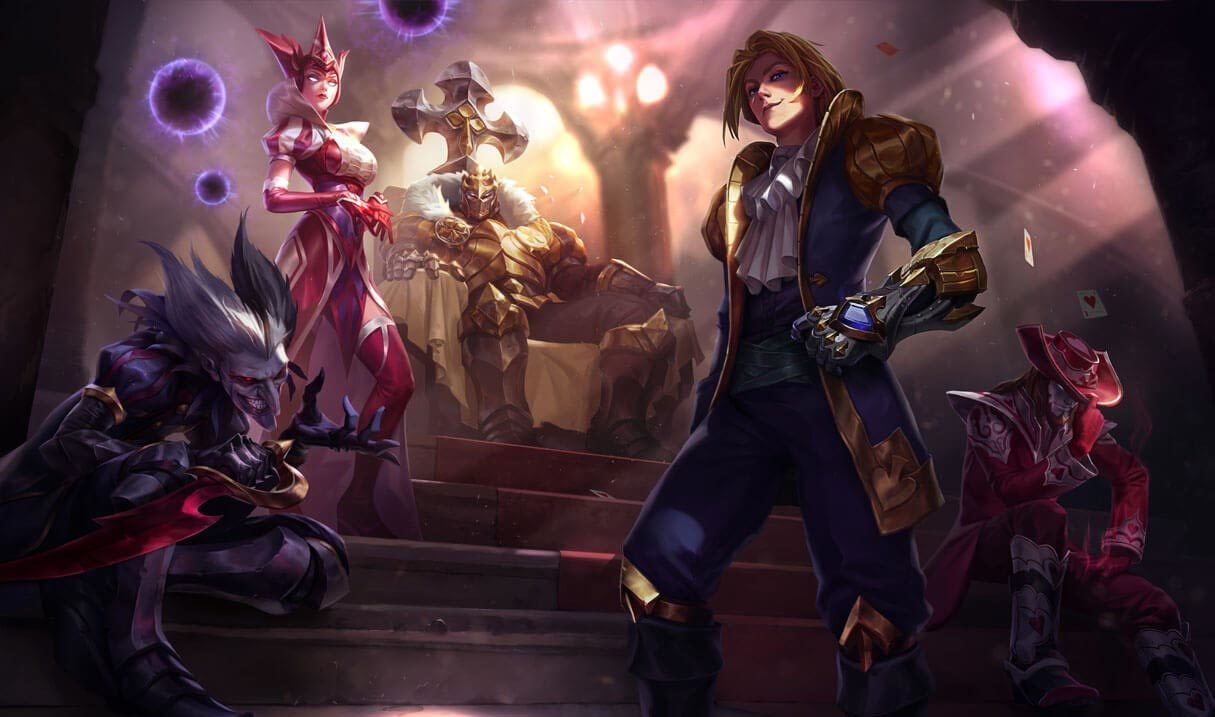 Jack Of Hearts Twisted Fate League Of Legends Lol Champion