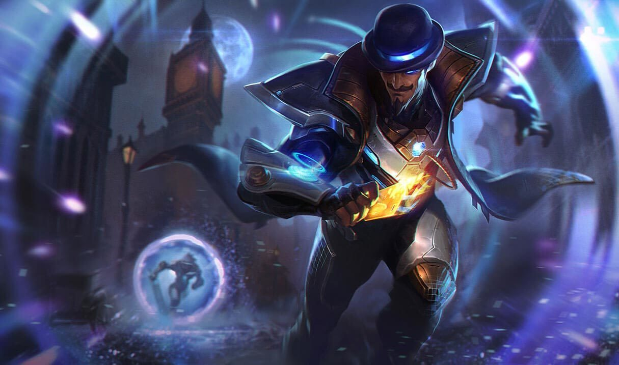 Pulsefire Twisted Fate Landscape Skin