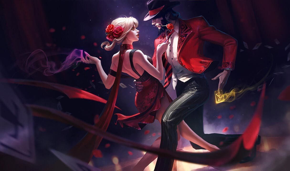 Tango Twisted Fate League Of Legends Lol Champion Skin On