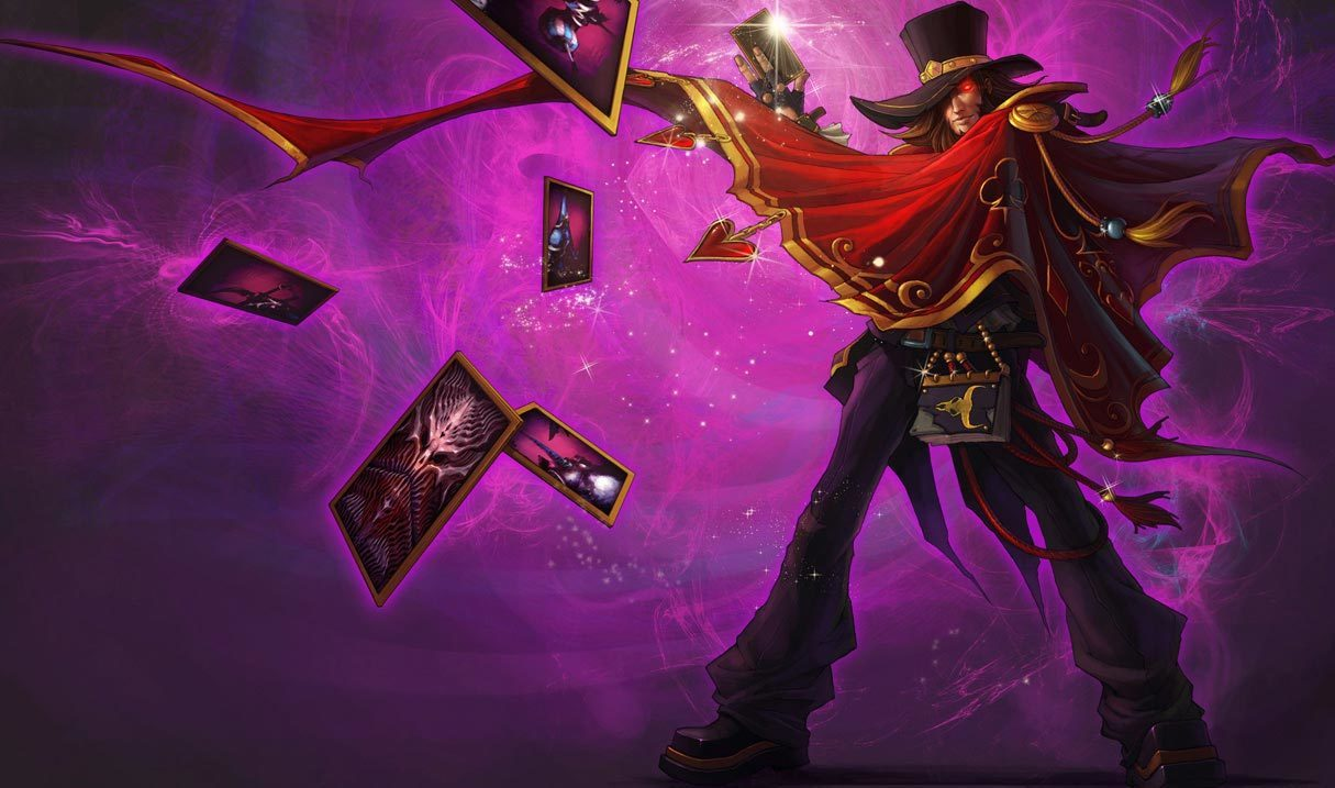 The Magnificent Twisted Fate Landscape Skin