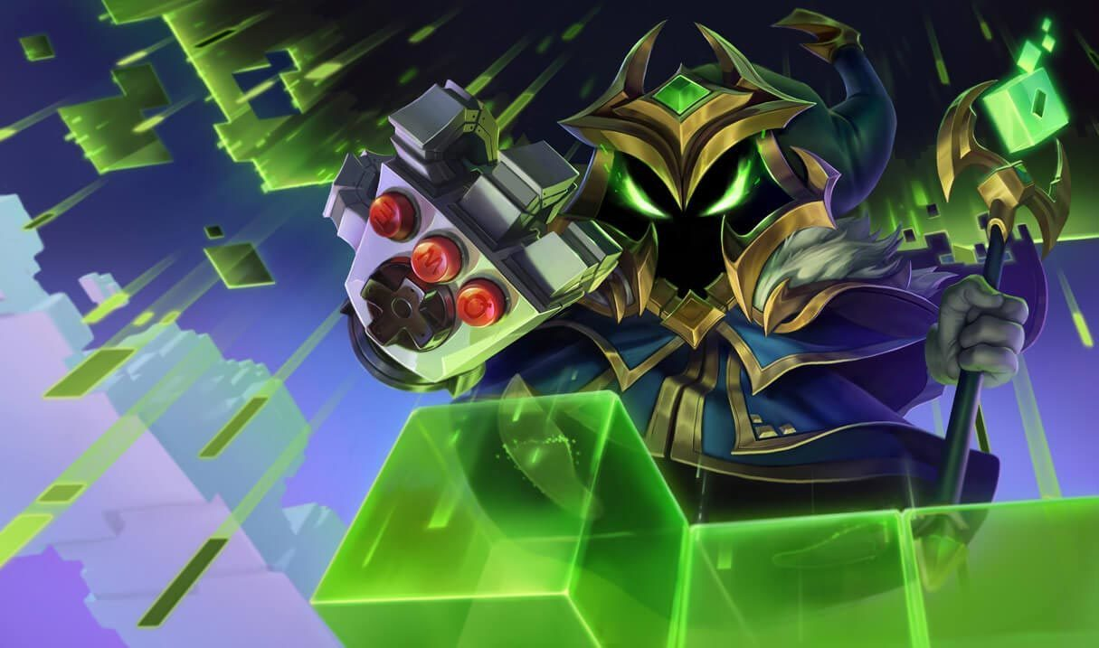 Final Boss Veigar Landscape Skin
