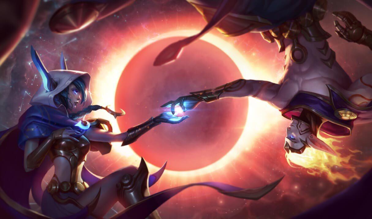 Cosmic Dusk Xayah :: League of Legends (LoL) Champion Skin on MOBAFire