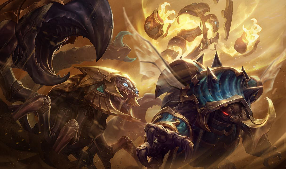 Guardian of the Sands Xerath Landscape Skin