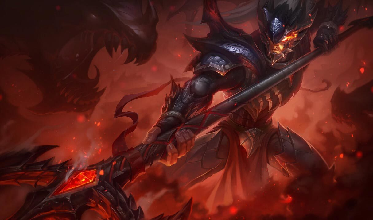 Dragonslayer Xin Zhao Landscape Skin