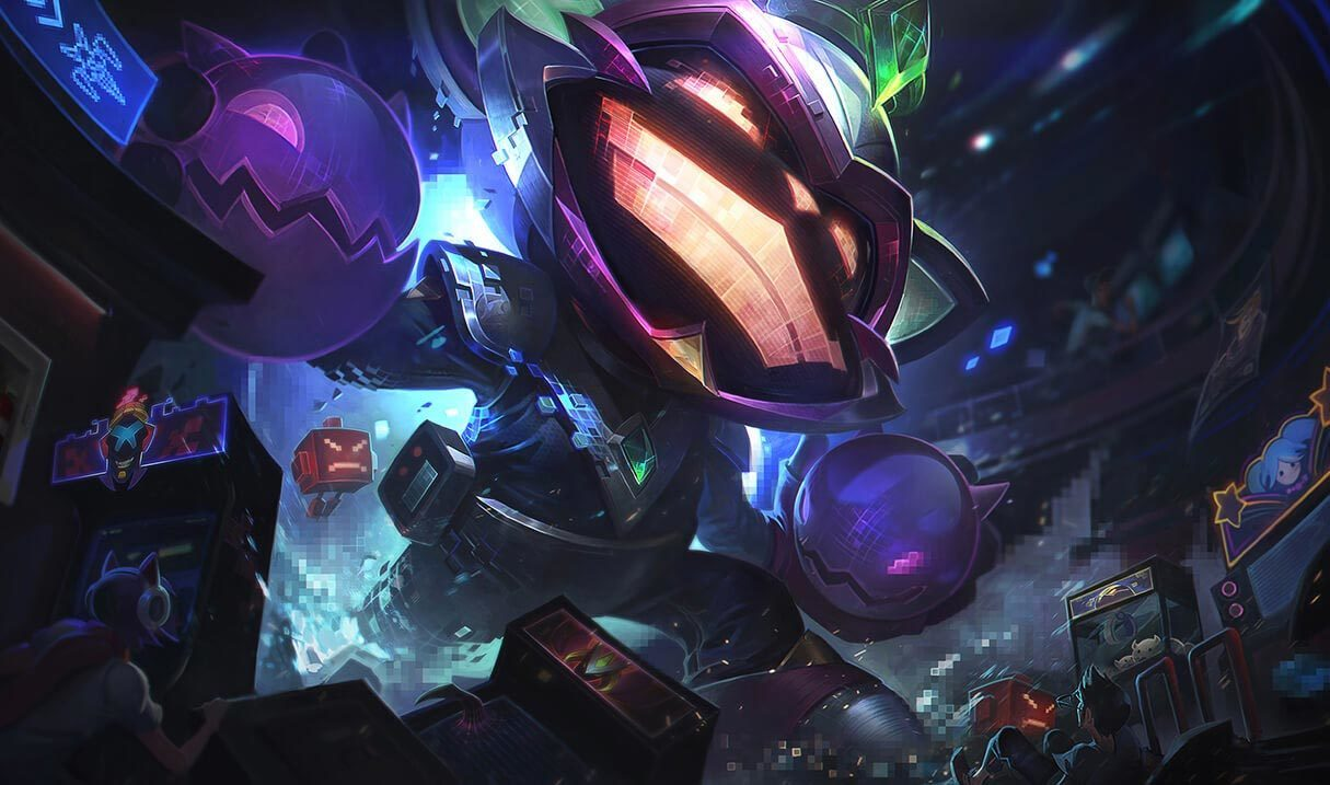 Battle Boss Ziggs Landscape Skin
