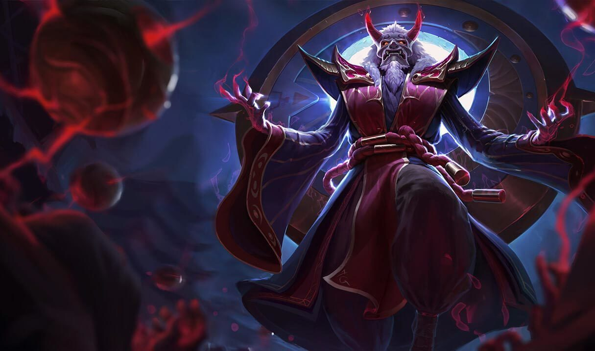 Blood Moon Zilean Landscape Skin