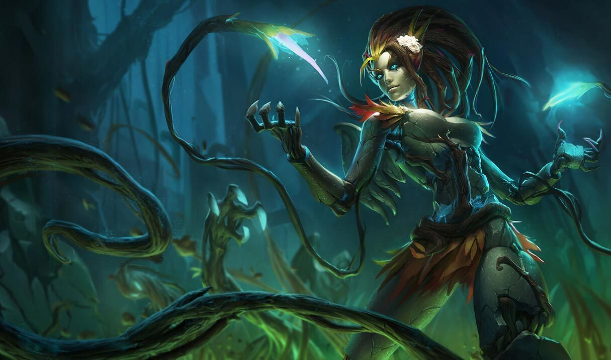 Haunted Zyra Landscape Skin