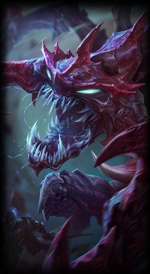 Dark Star Chogath League Of Legends Lol Champion Skin On Mobafire
