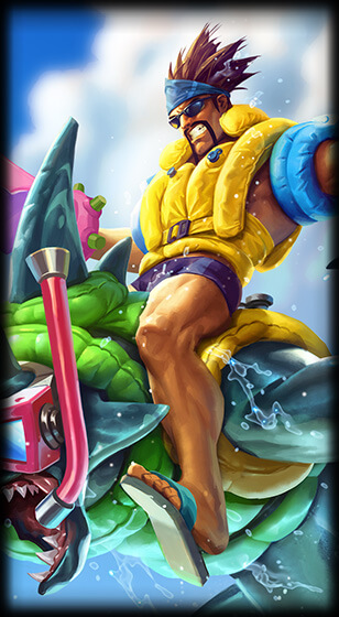 Pool Party Draven Skin