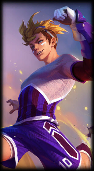 Striker Ezreal Portrait Skin