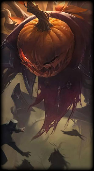 Pumpkinhead Fiddlesticks Skin