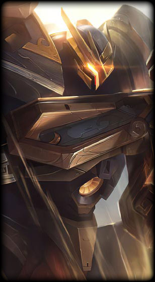Mecha Kingdoms Garen Prestige Edition Skin
