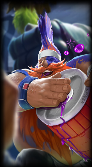 Superfan Gragas Skin