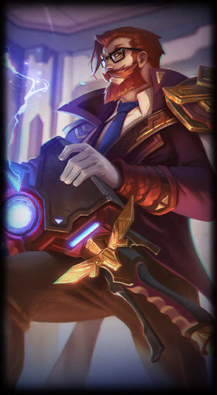 Battle Professor Graves Skin