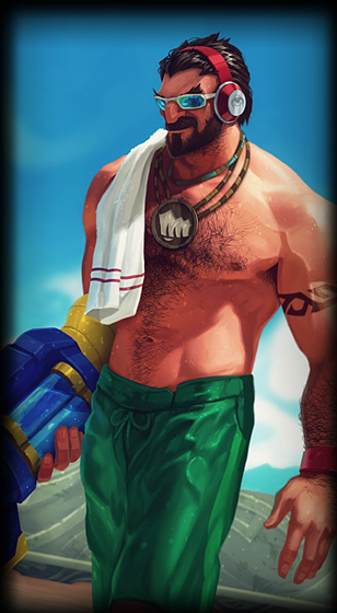 Pool Party Graves Portrait Skin