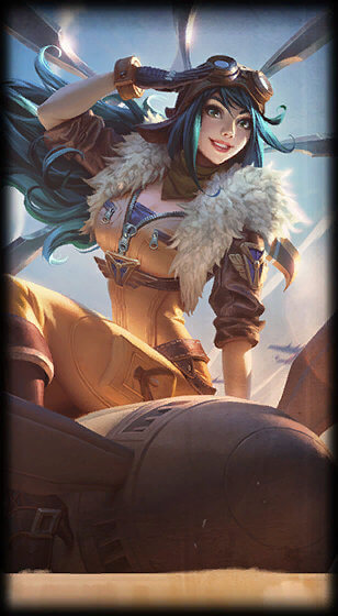 Aviator Irelia Skin