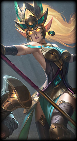 Guardian of the Sands Janna Skin