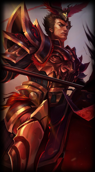 Warring Kingdoms Jarvan IV Skin