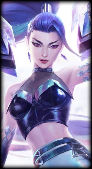 K/DA ALL OUT Kai'Sa Skin